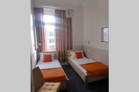 room with two single beds .not less as 30 days - Apartment