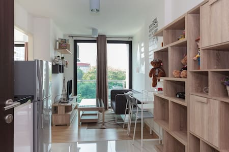 JJmarket Chatuchak,Wifi,Pool 406 - Bangkok - Wohnung