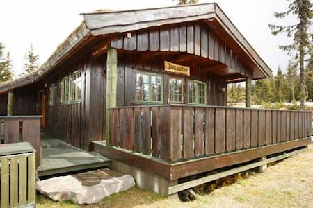 Cabin located on Rømåsen, Sjusjøen - Blockhütte