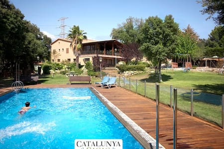 Masia Matadepera for 14 guests, only 25km from Barcelona! - Barcelona Region - Haus