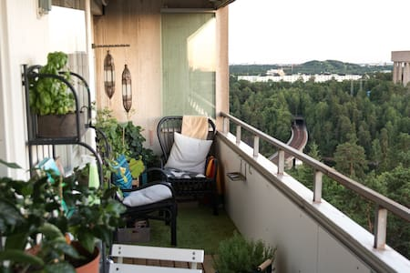 Penthouse apartment, 12min from central station - Wohnung