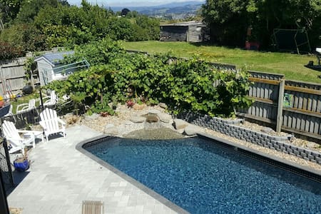 Amazing Pool, Spa, Views and Quiet - Ohauiti - House