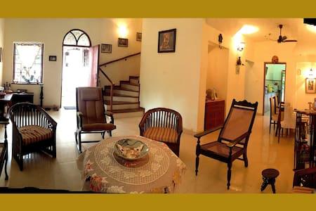 3 BR AC Cottage in Latin Quarter of Panjim - North Goa