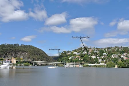 Comfortable 2br with view near Cataract Gorge - Apartament