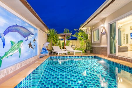 Aonang Sweet blue sea (private pool - Villa