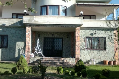 5+2 villa with a breath taking view of Trabzon - Casa de campo