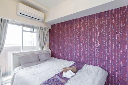 Near NAMBA !! LOOKS LIKE HOTEL 806 - Appartamento