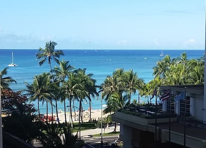 Private Seashore Studio Ocean View! - Honolulu - Apartment