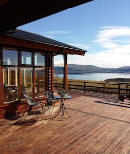Beautiful ocean view cottage - Akranes - Casa