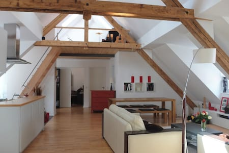 Large, Bright and Quiet Loft in Central Munich - München