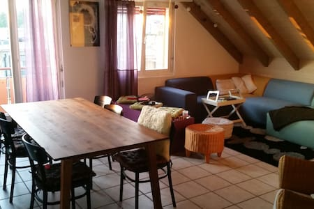 Room in a beautiful and cozy maisonette apartment - Appartement