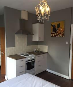 Bright new studio in period res - Dublin 8 - Apartment
