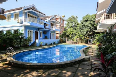 Duplex Villa by the Pool @ Courtyard Complex - Vagator