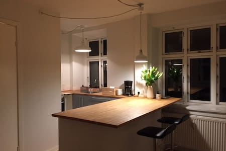 Cosy two room with kitchen dining