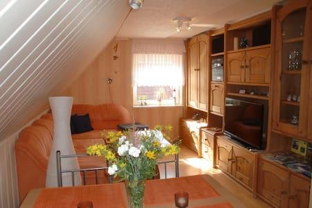 Schöne und ruhige Ferienwohnung auf Rügen - Wohnung