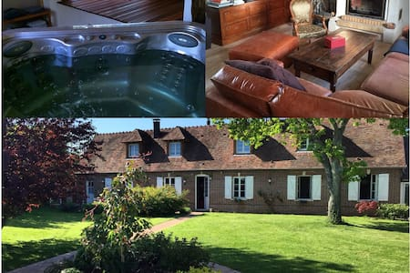 Old Farm in Normandy close to Paris. 3BR - Villa