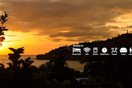 THE BEST VIEW AROUND SAN JUAN DEL SUR! - Ház