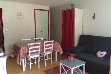 Studio 26m² Saint lary  4-5 pers ski, rando, cure - Apartment