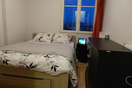 Chambre double tt confort Sartrouville - PARIS - Sartrouville - Apartment
