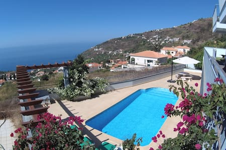 Viky's House - A Wonderful Ocean View - Arco da Calheta - Casa