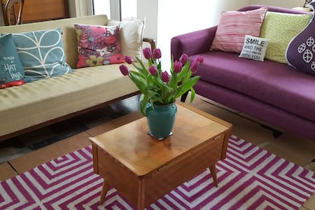 Bright single room mid-century flat central London - London - Apartment