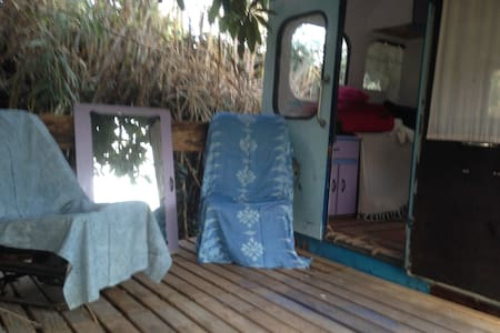 The Blue Bus - Estepona - Camper/RV