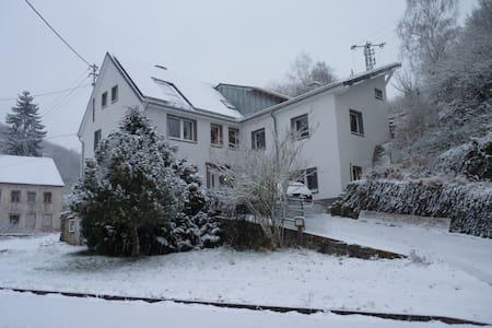 Sehr große Eifel Ferienwohnung, nähe Luxemburg - Zweifelscheid