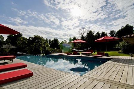 Luxury House - inside pool - St Victoire view - Saint-Marc-Jaumegarde