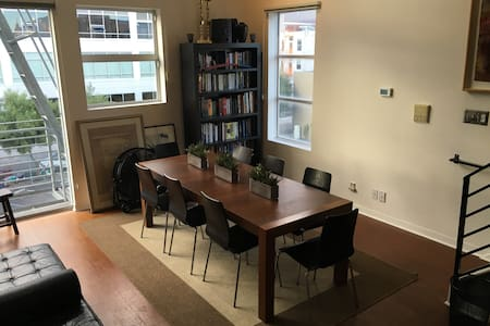 SoMa Mid-Market - Cool, Convenient, Spacious Loft - San Francisco - Loft