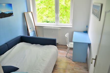 Couple of traveler welcomes in room of 11m2 - Erstein - Appartement