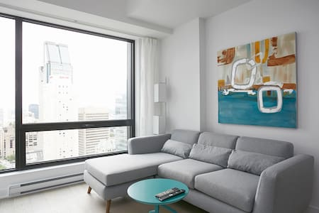 Brand new luxury condo in DT Montreal - Appartement