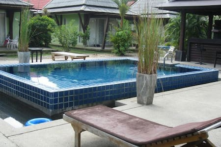 Thiptara standard houses with shared pool - Huis