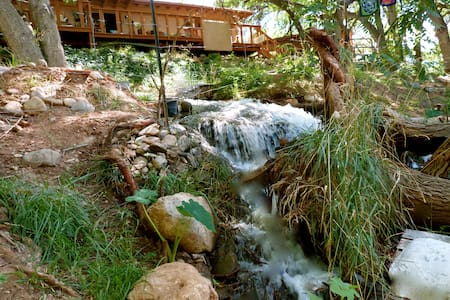 Peace Tree Campsite in Wine Country - Waterfalls! - Zelt