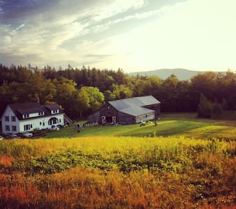 Farm house on Mount Mansfield - Talo