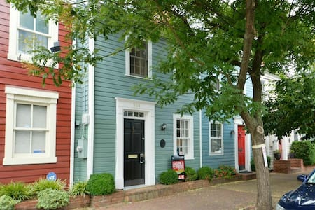 Charming row house in walkable Old Town Alexandria - Alexandria