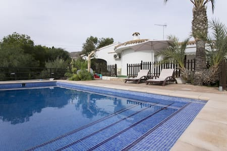 Charming house with Pool ideal for large families - El Campello - Villa