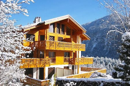 Chalet Bellmont - Luxurious & entire flat - Apartamento