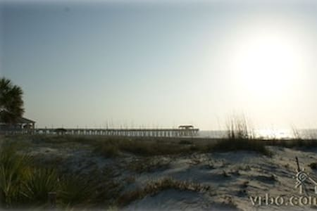 101 Steps to the Beach, sand, sun and body surfing - Tybee Island - Condominio