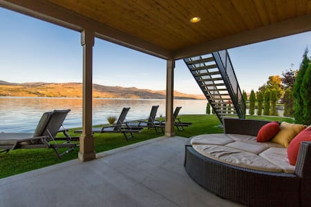 Azure Bay Waterfront Retreat - Chelan