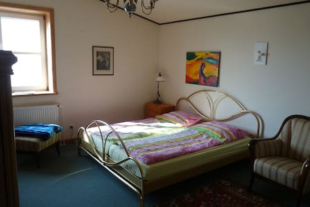 Zimmer mit Du/WC in Reitsportanlage - Höhbeck - Bed & Breakfast