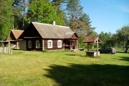 Country tourism farmstead for parties and relax - Dainiškės - House