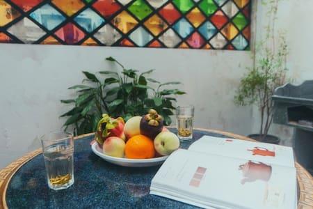 浙二医院对面 蓝色清新与古色古香融合的温暖小屋 - Hangzhou