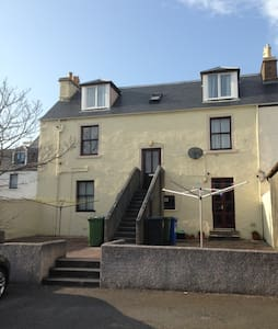 Victorian Townhouse Apartment,  Stornoway t/centre - Stornoway - Appartement