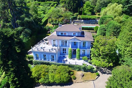 Classy and stylish villa with pool - Meina - Villa