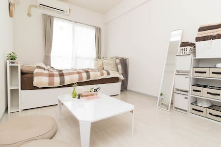 Shibuya/10min/4ppl/Wifi/1double bed - Wohnung