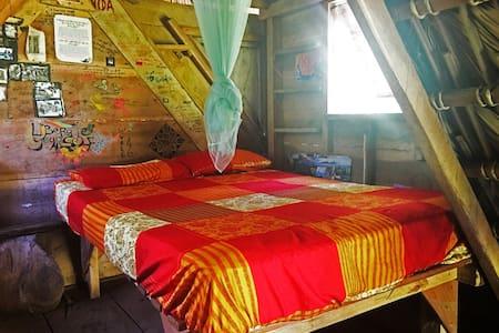 Murcielego Hut. Zopilote permaculture farm/hostel - Stråhytte