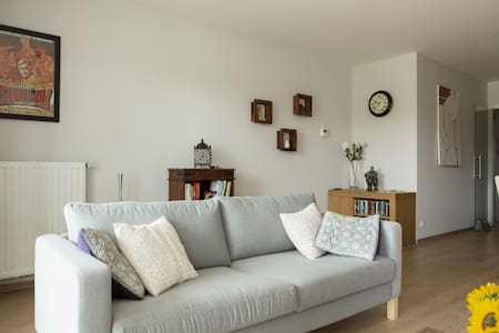 Free parking, spacious & relaxing - Yasmine's Apt. - Gent - Flat