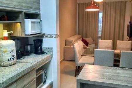 Ap 01 dormitório Praia de Bombas - Bombinhas - Apartamento