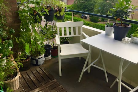 Room in bright 2 bedroom apartment in Kralingen - Lakás