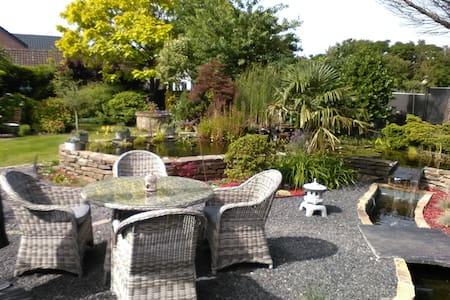 Maison Familial avec jardin et etang exeptionnel - Amay - Haus
